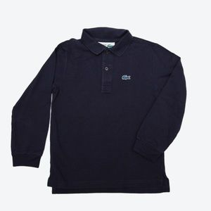 Lacoste for J Crew Long Sleeve Polo